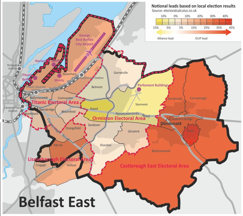 Belfast E map